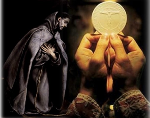 #Francisco-e-Eucaristia