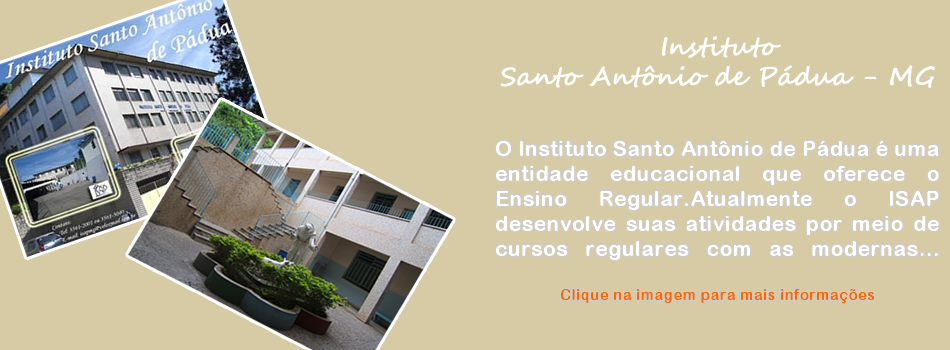 Instituto Santo Antônio de Pádua - MG